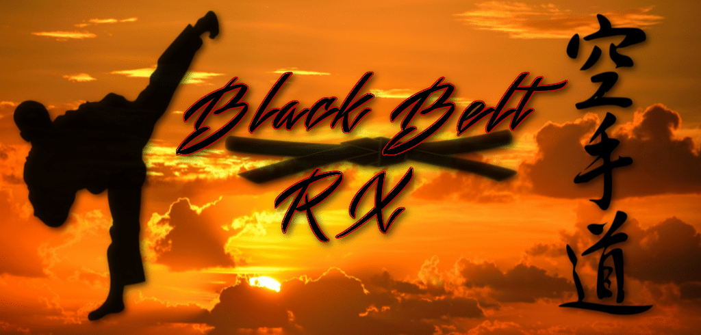 BlackBeltRx - logo, karate kyokushin