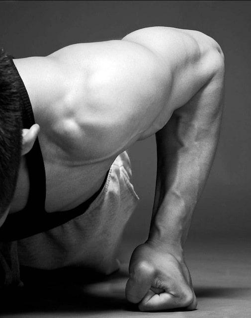 siła w sztukach walki karate