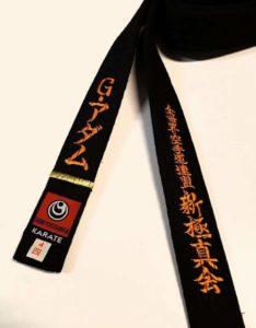 karate kyokushin 1st dan