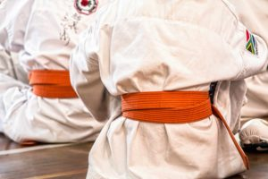karate orange belt