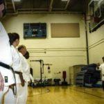 Ceremonia rozpoczęcia i zakończenia treningu karate