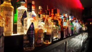 Butelki alkoholu