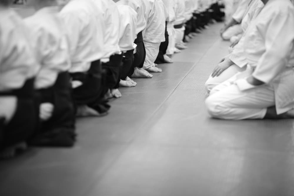 Seiza - ceremonia karate