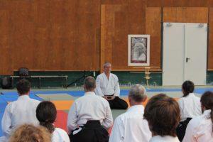 Ceremonia treningu karate